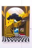 当代伊斯坦布尔艺术展2016年 免版税图库摄影