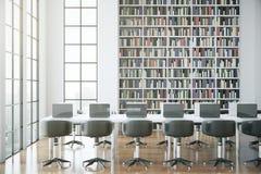 当代图书馆 向量例证