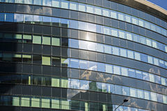 当代建筑学办公楼都市风景个人每 图库摄影