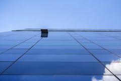 当代建筑学办公楼都市风景个人每 免版税库存照片