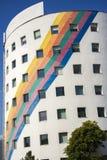 当代建筑学办公楼都市风景个人每 库存图片