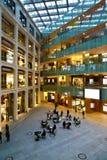 当代建筑学在东京的购物中心 免版税图库摄影