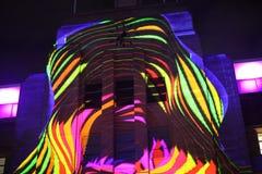 当代艺术悉尼博物馆门面  图库摄影
