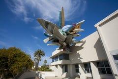 当代艺术,圣地亚哥博物馆  免版税库存图片