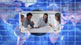 录影有同事的娱乐性人民行业蒙太奇有地球美国航空航天局镜象的  org 影视素材
