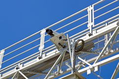 录影监视的摄象机 免版税库存图片
