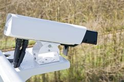 录影监视的摄象机 免版税库存照片