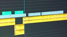 录影编辑时间安排-审阅夹子和框架的编辑 影视素材