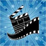 录影象戏院标志 免版税库存照片