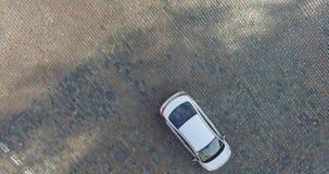 录影镜头在基辅quadrocopter最低点射击了  影视素材