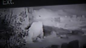 录象机空白噪声VHS作用 影视素材
