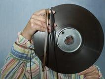 录音师或DJ 库存图片