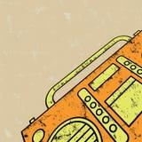 录音机 免版税库存图片