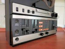 录音磁带记录器老建筑 免版税库存图片