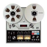 录音磁带记录器 免版税库存照片