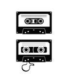 录音磁带 皇族释放例证