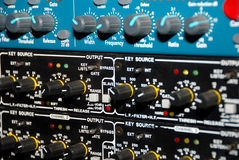 录音设备媒介设备 免版税库存照片