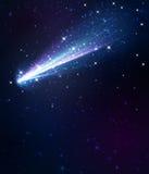 彗星背景 向量例证