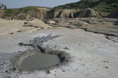 彗星ii泥泞的形状火山 库存照片