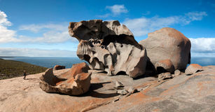 形成卓越的岩石 免版税库存照片