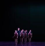 形成古典芭蕾` Austen汇集` 库存图片