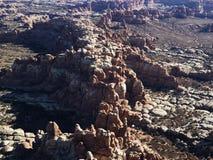 形成岩石犹他 库存照片