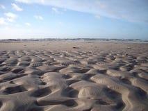 形成沙子 免版税库存照片