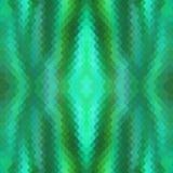 形成爬行动物和相似的蛇皮的样式小五颜六色的绿色鱼鳞的无缝的样式 库存图片