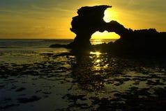 形成自然岩石 库存图片