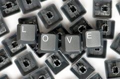 爱黑钥匙 库存照片