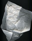 形成起皱纹的税务 免版税库存照片