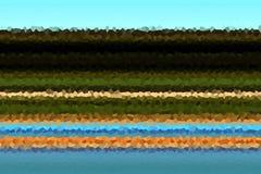 形状 蓝色金黄米黄白色磷光性抽象背景,设计 免版税库存图片