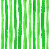水彩剥离无缝的样式集合 自然 免版税图库摄影