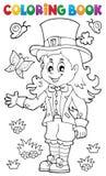 彩图妖精女孩题材1 库存照片