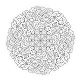 彩图的圆的元素 图库摄影