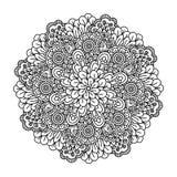 彩图的圆的元素 库存图片