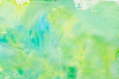 水彩多彩多姿的背景纹理 免版税库存照片