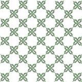水彩无缝的样式 抽象模式 叶子 免版税库存照片