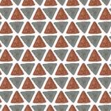 水彩无缝的样式 非洲纺织品 库存图片