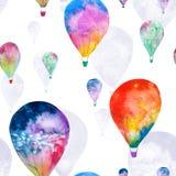 水彩气球 库存图片