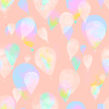 水彩气球 图库摄影