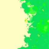 水彩油漆飞溅框架 免版税库存图片