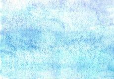 水彩的宽广的样式在一张潮湿纸的 皇族释放例证