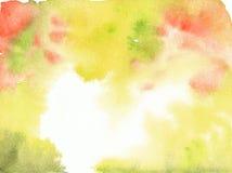 水彩背景模板短信卡 库存图片