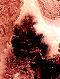 水彩自然分数维 库存图片