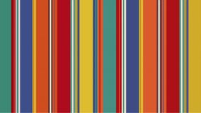 彩色条纹无限缩放抽象视频 向量例证