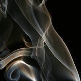 彩色烟幕 免版税库存图片