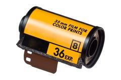 彩色片卷ISO 400 库存照片