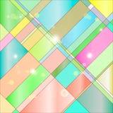 彩色玻璃 向量例证