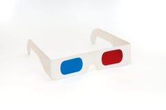 彩色立体图3D玻璃 免版税库存照片